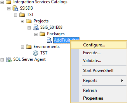 Using the project deployment model with environments (SSIS Series